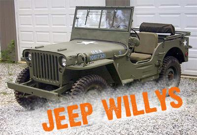 jeep willys fuoristrada uso militare