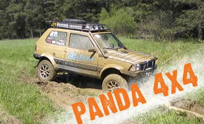 panda 4x4 off road